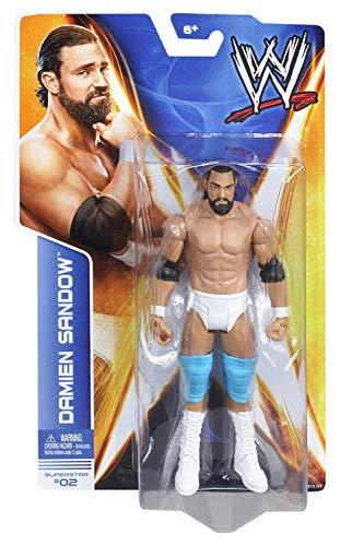 WWE Damien Sandow Basic-Serie 35 Figur #02