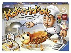 Ravensburger Kakerlakak (HEXBUG-Spiel) 0.7999992370605px;'Die Kakerlaken sind los! Flink saust eine durch die Küche und verbreitet Ekel und Schrecken. Manövriert sie mit Hilfe des ausliegenden Bestecks schnell in eure Falle. Der Würfel verrät...