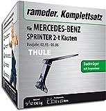 Rameder Komplettsatz, Dachträger SquareBar für Mercedes-Benz Sprinter 2-t Kasten (116320-02039-3)