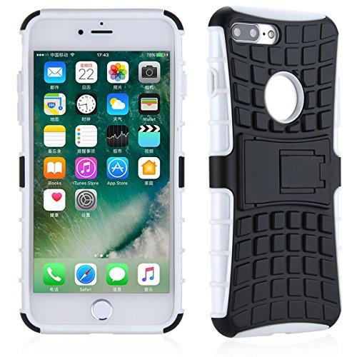 Case Cover TYJTECH cellulari in caso di Design Premium per Samsung per iPhone per la vendita di Huawei Hot Models (iPhone 7 Plus, Bianco) bianca