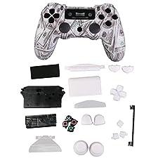Custodia Cover Controllore US Dollaro Kit Caso Housing Shell com Pulsante Per Playstation4 PS