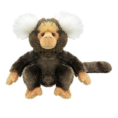 Wild Planet All About Nature-20cm Titi-Hecho a Mano, Peluche...