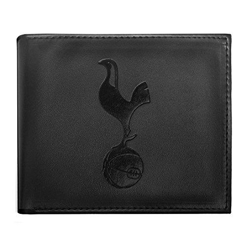 Tottenham Hotspur FC - Cartera oficial con el escudo grabado - Negro cartera