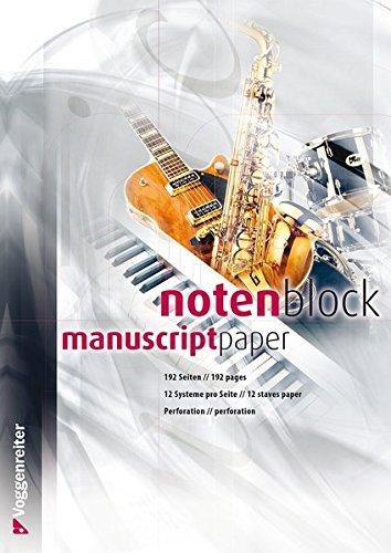 Notenblock-Voggenreiter-Verlag