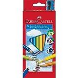 Faber-Castell 116520 - Buntstifte triangular Jumbo, 20er Kartonetui