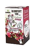 Bio Rosendünger - Tee für Pflanzen -