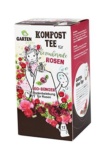 Bio Rosendünger - Tee für Pflanzen - Pflanze Tee