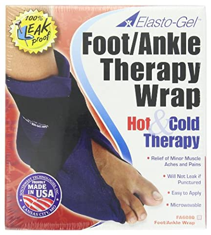 Elasto-Gel Ice and Hot Wrap for Foot/Ankle Pain Treatment