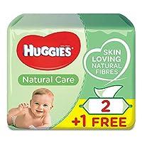 HUGGIES BABY WIPES ALOE VERA, 2+1 Free, 56s x 3 (168 Wipes)