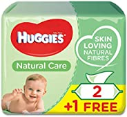 Huggies Natural Care, 168 Wet Wipes