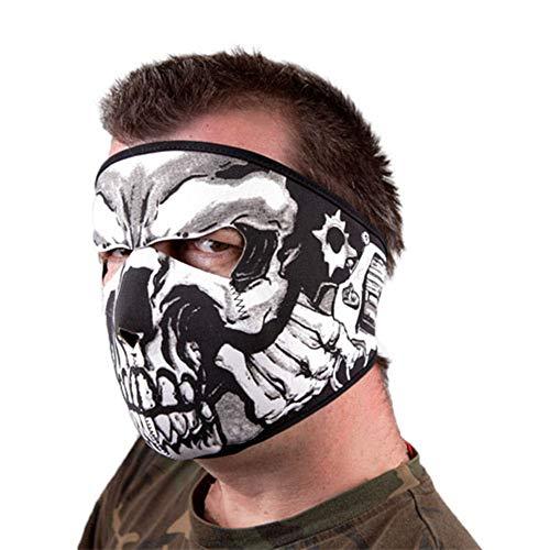 Black Sugar Maske Sturmhaube Neopren Bedruckt Totenkopf Skelett Gothic Schutz Airsoft Paintball Staub Regen Sport Moto Kostüm Cosplay konvent