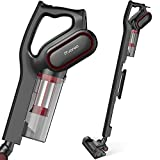 Vacuum Cleaner, Bagless Upright Vacuum Cleaners,600W 15Kpa Corded 2 in 1 Hand held