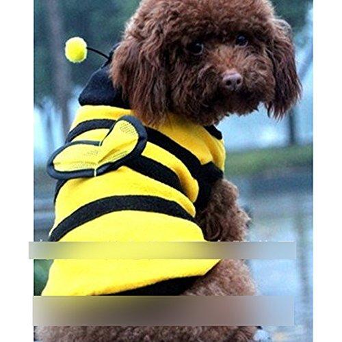 Gogogo Nett Hummel Bienen Stil Haustier Kostüm Welpen Hunde Katzen Größe 8 # (Biene Kostüme Für Hunde)