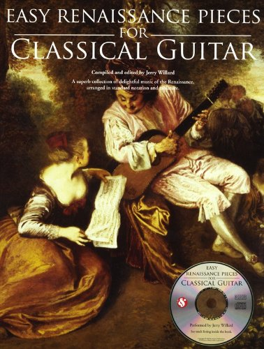 Easy Renaissance Pieces For Classical Guitar: Noten, Bundle, CD, Tabulatur für Gitarre
