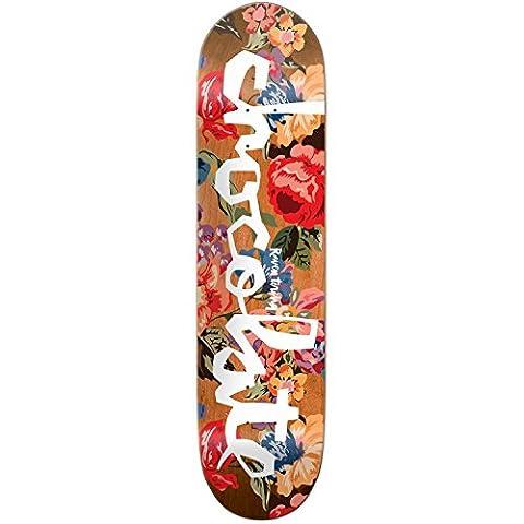 Chocolate Floral Chunk Skateboard Deck - Tershy 8.5