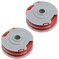 First4spares Bobine & Ligne Alimentation Automatique Double qualité Supérieur pour Débroussailleuses & Taille-haie Flymo lot X2