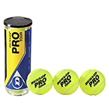 Dunlop Pro Tour Table 3 Piece Tennis Balls - Small