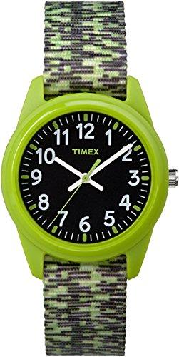 Timex Kinder Analog Quarz Uhr mit Nylon Armband TW7C11900
