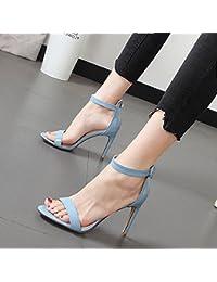Xue Qiqi High-Heel Einzige Schuhe Frauen Schuhe Hohl Einzige High-Heel Weibliche Tipp Feine Schuhe aus Leder mit Farbe mit Sandalen... afdc87