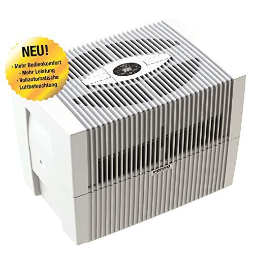 Venta Luftwäscher LW45 COMFORTPlus Luftbefeuchter und Luftreiniger für Räume bis 80 qm, brilliant weiss, mit digitaler Steuerung