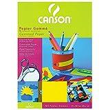 Canson 200992702 Hobby - Gummiertes Papier, A4, sortiert