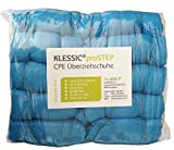 Überschuhe PE stark/strong KLESSIC®proSTEP 100 Stück Schuhüberzieher blau Überziehschuhe Einweg Schuhüberzug