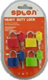 #1: My Party Suppliers Multicolor Luggage Lock (Set of 4)