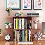 Bücherregale CJC Möbel Desktop Veranstalter Anzeige Einheit Lager Gestell Schreibtisch Tabelle Stand DIY (Farbe : T4, größe : 65 * 18 * 54.4CM)