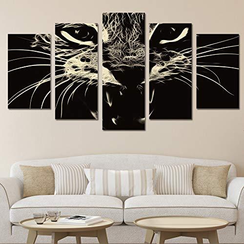 Wall Art Home Decoration Pittura Space Ship HD Stampa Poster Moderno Paesaggio Canvas Cuadros Modular 5 40x60 40x80 40x100cm