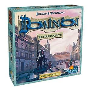 Rio Grande Games 22501417 Dominion - Juego de Mesa (Contenido en alemán)