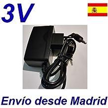 Cargador Corriente 3V Reemplazo Afeitadora BABYLISS E702XTE Recambio Replacement