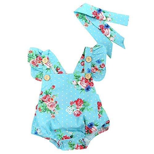 bismarckbeer Baby Mädchen (0-24 Monate) Bekleidungsset, mehrfarbig One Piece Romper Outfit