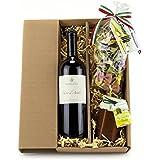 Geschenk Set Italien-Urlaub mit Rotwein Nero d'Avola (1 x 0.75 l)