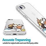 AUBAYYJKHV Coque iPhone 5 5S Se Case LAP56L Design Clear Case,TPU Soft Protective Case Silicone Skin Cover Phone Case
