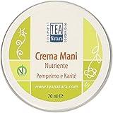 TEA NATURA - Crema Mani Nutriente Pompelmo e Karitè - Elasticizzante - Rinforzante - Non unge - Vegan - 70 ml