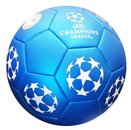 Balón oficial de fútbol UEFA Champions League, en color azul Incluye oficial gymbag, Turn Bolsa