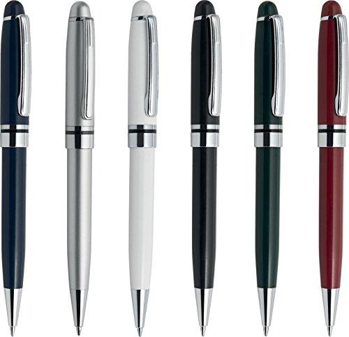 100 pezzi penne personalizzabili personalizzate con nome logo o slogan gadget promozionali - montreal pd338 - stampa 1 colore