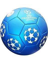 Officiel UEFA Champions League Ballon de football, en bleu avec offiziellem Gymbag, Sac de gym
