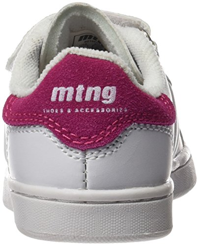 MTNG Attitude (MTNG8) Unisex-Kinder 69681 Sneakers Mehrfarbig (Action Pu Blancoserraje Pu Fucsia)
