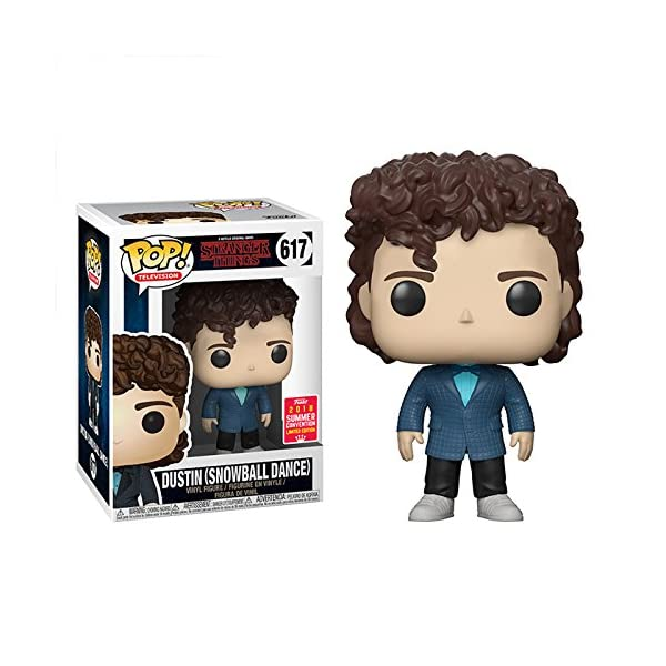 Funko Pop Dustin vestido para el baile (Stranger Things 617) Funko Pop Stranger Things