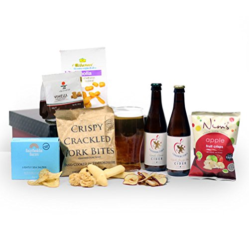 Cider, Pork & Apple Man Hamper Box - FREE UK delivery