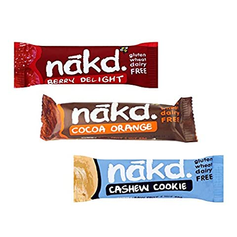 Nakd Free From Gluten Yummy Mix Multi-pack 24 Bars