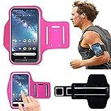 Nokia 6Armband Fall, DN® Sport Sportarmband für Nokia 62017, verstellbare Größe, sicheres Design, geeignet für Radfahren, Laufen, Joggen, Wandern, Trekking, Workout, Übung für Nokia 6