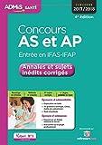 Concours AS et AP Entrée en IFAS-IFAP : Annales et sujets inédits corrigés