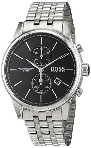 HUGO BOSS Men's Chronograph Quartz Watch with Stainless Steel Bracelet – 1513383