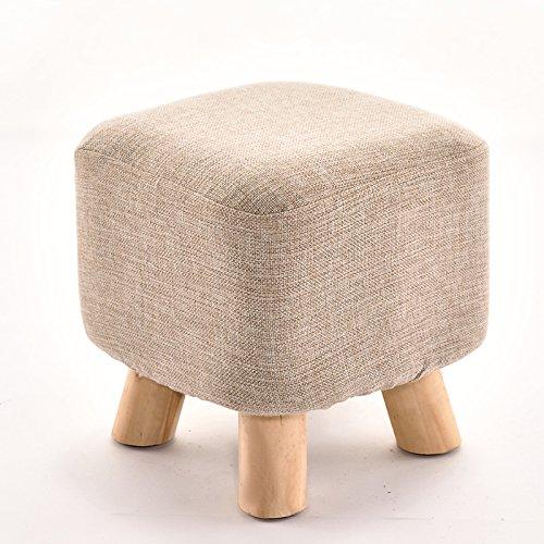 Dana Carrie Tabouret table basse en bois sur un tabouret bas creative élégant chaussures chaussures pour adultes et la mise en œuvre de l'accueil, des bancs banc canapé Gray