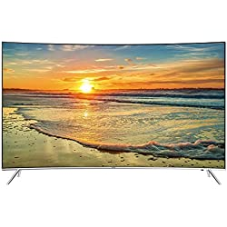Samsung - Tv led curvo 55'' suhd ue55ks7500 4k hdr, wi-fi y smart tv