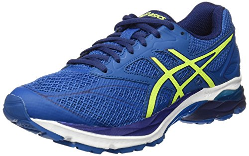 Asics Gel-Pulse 8, Scarpe Sportive Outdoor Uomo, (Thunder Safety Yellow/Indigo Blue), 42.5 EU