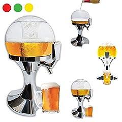 Idea Regalo - takestop® SPILLATORE Birra 3.5 Litri alla Spina Fresca EROGATORE BIBITE Bevande ALCOLICHE Dispenser DISTRIBUTORE Bicchiere Ghiaccio