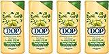 DOP Shampooing Très Doux 2 en 1 à l'Huile d'Olive 400 ml - Lot de 4